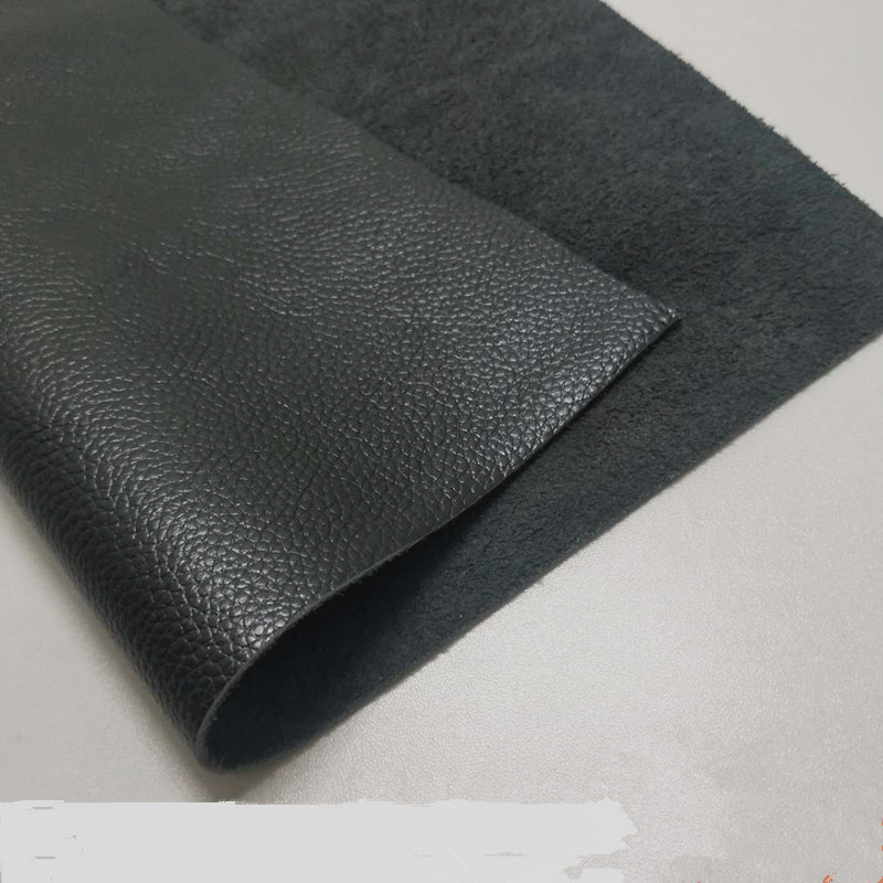 Black leather cowhide top…