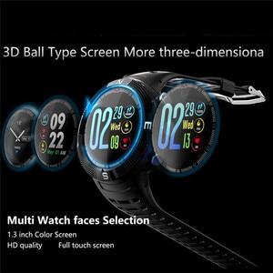 Image 2 - F18 Outdoor GPS Positioning Sports Smartwatch IP68 waterproof compass watch Call Message Reminder Heart Rate BT 4.2 Smart Watch