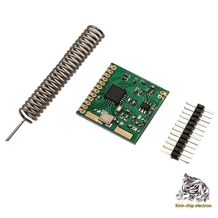5PCS/ LOT SI4432 Wireless Module/ Remote Wireless Module/ Wall-through-wall/ Wireless Transceiver Module/ 1000m