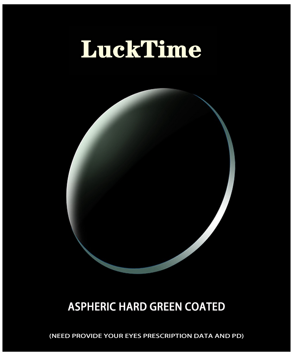 LuckTime Divanometric Customized Lenses #1.56-1.61-1.67 Myopia Lenses #1.56-1.61-1.67 Anti-Blu-ray Computer Protective Lenses