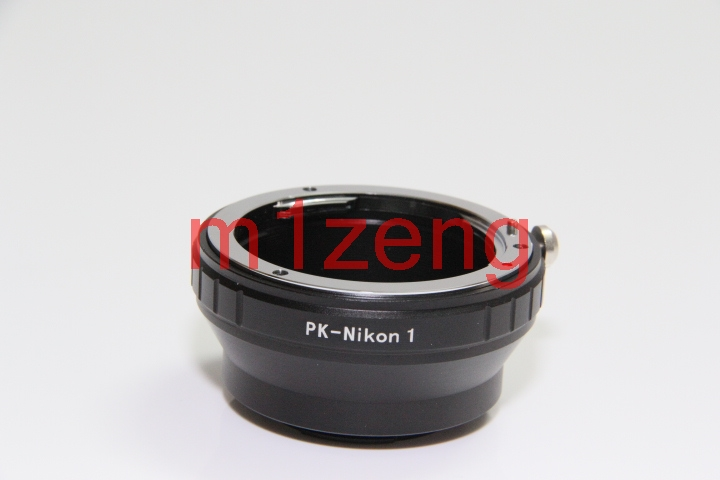 Pk-n1 переходное кольцо для объектива Pentax K PK Крепление объектива к костюму для nikon1 N1 J1 J2 J3 J4 V1 V2 V3 S1 S2 AW1 беззеркальных Камера
