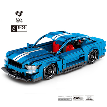 2020 new Creator Expert Forded Mustanged 10265 Classic Muscle Race Car 1967 GT500 11293 91024 Building Blocks Bricks Toys Gift image