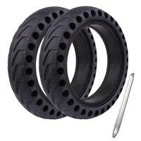 8 5 zoll Vorne/Hinten Roller Reifen Rad Solide Ersatz Reifen 8 1/2 für Xiaomi Mijia M365 solide reifen Elektrische roller Skateboard