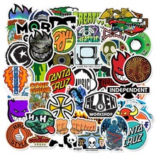 50pcs Skateboard Fashion Brand Legoingly Waterproof Sticker for Luggage Car Guaitar Phone Laptop Bicycle Stickers