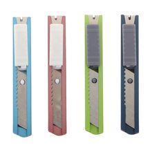 Blade-Tool Knife Utility Mini Razor Snap Stainless-Steel Retractable Sharp Off