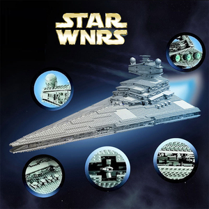 Image 2 - 81029 STAR WARS Imperial Star Destroyer ULTIMATE COLLECTOR Building Blocks Bricks Compatible lepinglys 10030 Birthday Gift Toy