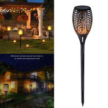LED Solar Flame Light Lamp Flickering Waterproof Garden Decoration Landscape Lawn Lamp Path Lighting Torch Garden Decoration digoo dg fle01 solar garden decoration led flame lamp landscape automatic waterproof atmosphere light for patio yard path light