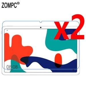 2 sztuk matowy miękki ekran LCD Protector filmy Matted Film dla Huawei Matepad 10.4 BAH3-W09 BAH3-AL00 Pro 10.8