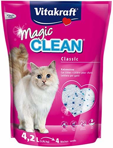 Vitakraft Magic Clean 15525 Cat Litter 4 Weeks