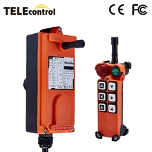 Industrial Remote Controller Switches F21-E1 Hoist Crane Control Lift Crane 1 transmitter 1 receiver 220V 380V 110V 12V 24V 36V nice uting ce fcc industrial wireless radio double speed f21 4d remote control 1 transmitter 1 receiver for crane