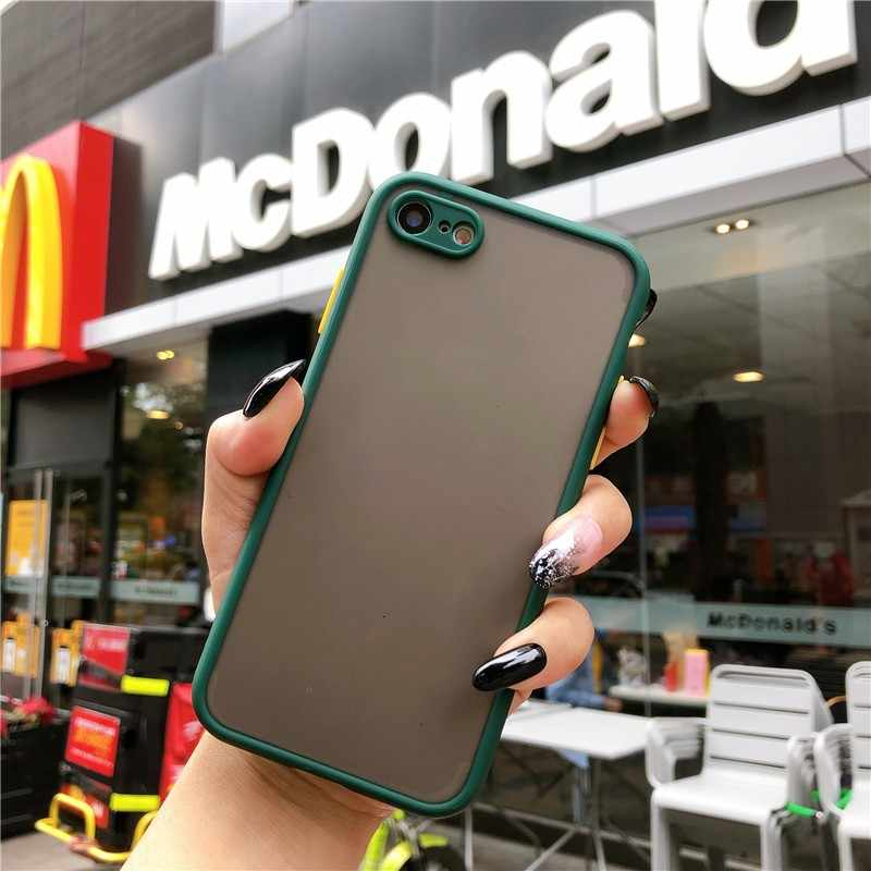 حافظة لهاتف iPhone SE 2020 iPhone 11 Pro Max X XR XS 8 Plus 7 6s غطاء خلفي بتصميم جديد