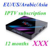 15000 live+VOD IPTV Albanian Poland Greek iptv subscription 12 months Holland H96 RK3318 box with 1 year iptv EX YU France Adult