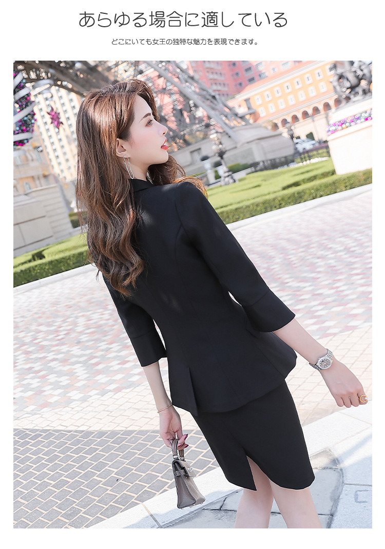 H064e5113aaaa4b0180d57fce055cf3e9s - Black Apricot Female Elegant Women's Suit Set Blazer and Trouser Pant Business Uniform Clothing Women Lady Tops and Blouses