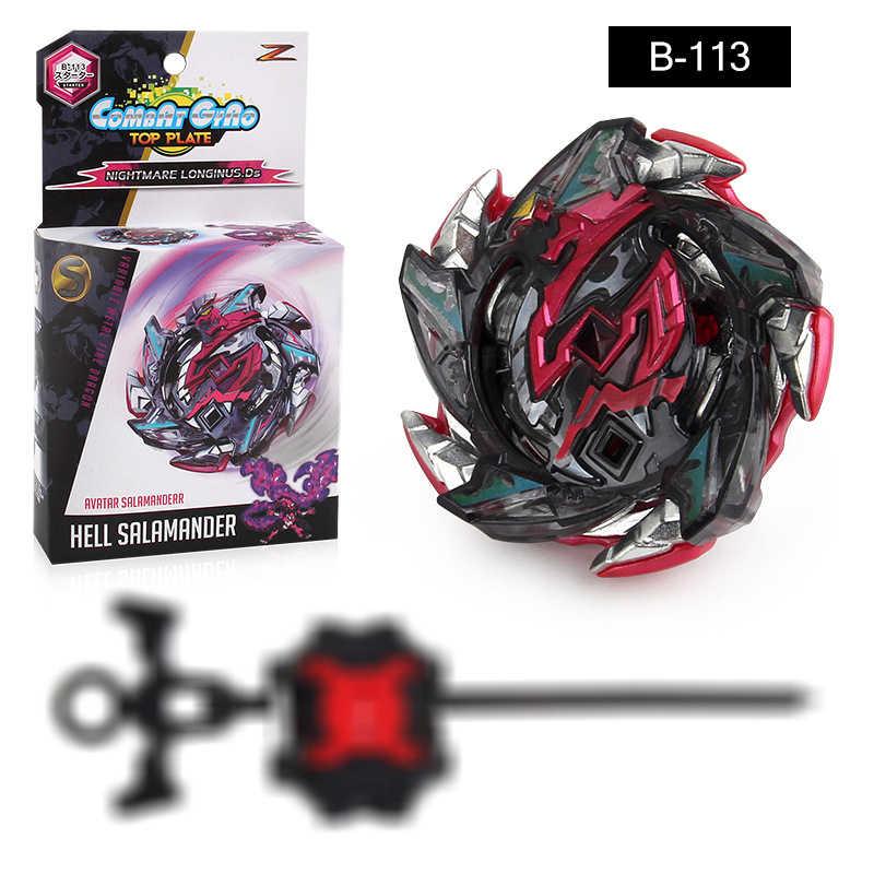1 paquete de la hoja de batalla de Hood con el juego de iniciador explosión turbo gt niños giroscopio de juguete regalo niño juguete que gira las tapas de la arena de fusión de metal de toupie