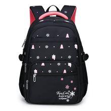 2020 New backpacks for primary school girls 6-15 years old and girls 3-9 years old 471075 cheap CN(Origin) Oxford zipper 0 36kg Cartoon unisex 12cm 20cm School Bags black sky blue blue