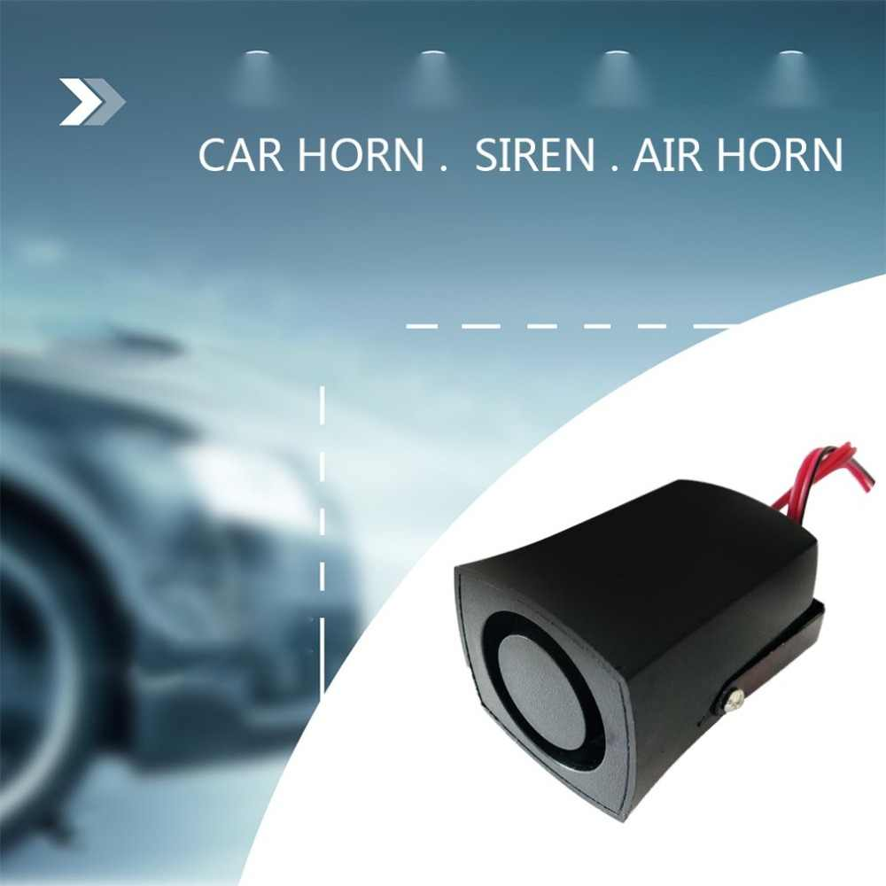 12V róg powietrza samochodów ciężarówka samochód cofania głośnik Buzzer klakson alarmowy syrena ostrzec sygnał dźwiękowy pasuje do różnych pojazdów