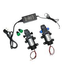12 Volt Hoge Druk Waterpomp 60W 80W 100W Micro Wasstraat Tuin Irrigatie Druk Self priming Booster Pomp 12 Volt Adapter
