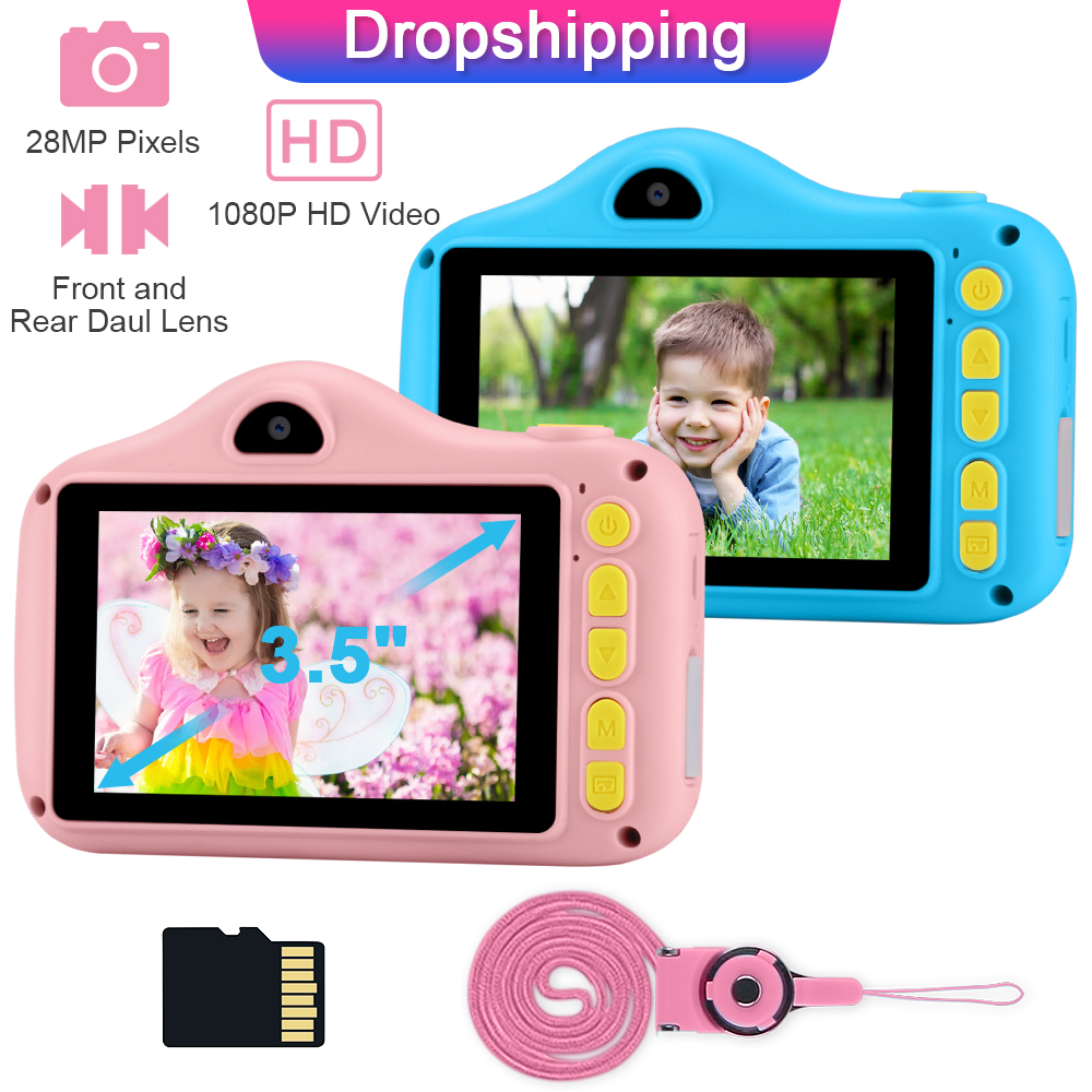 Toys Selfie-Camera Girl Kids Children for Birthday-Gift