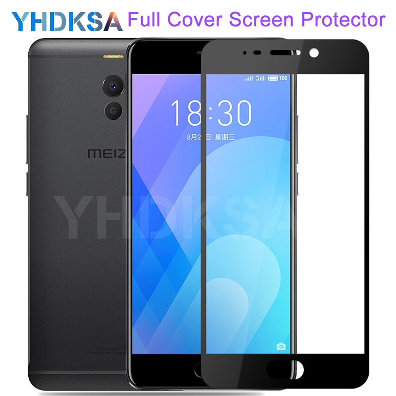 9D Tempered Glass On For Meizu M6 M5 M8 Note M6T M6S M5C M5S M8 Lite M8C V8 Pro Safety Screen Protector Protective Glass Film