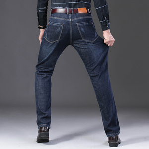 Image 4 - Jantour 2019 yeni erkek sıcak kot yüksek kaliteli ünlü marka kış kot pantolon sıcak akın sıcak polar yumuşak erkek kot erkek 35 40 boyutu