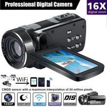 Cewaal P7 Full HD 4K 1080P видеокамера профессиональная камера ночного видения анти-встряхивание цифровая фото Vlog камера видеокамера Стабилизатор потока