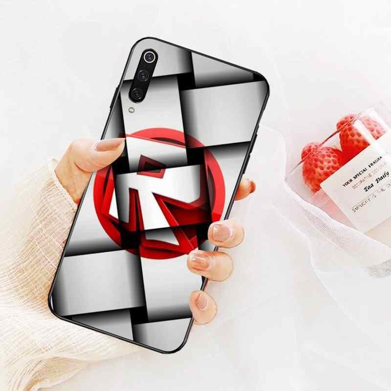Nbdruicai 人気ゲーム roblox ロゴ新着黒携帯電話 redmi 注 8 8A 7 6 6A 5 5A 4 4X 4A プロプラスプライム