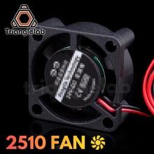 Trianglelab 2510 ventilador de refrigeração para aranha hotend compatível com mosquito impressora 3d hotend ventilador para mosquito extrusora