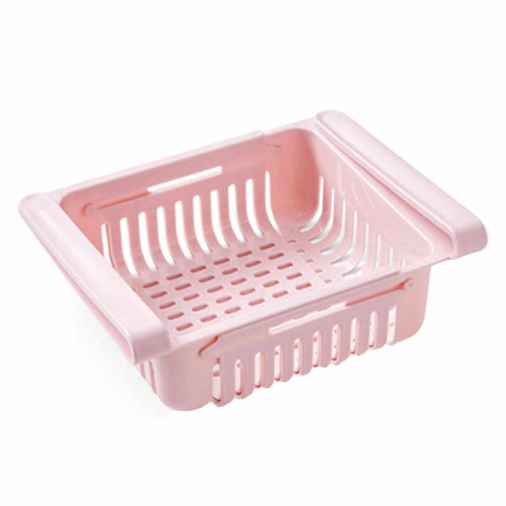 ครัวใหม่ Article ชั้นวางของตู้เย็นลิ้นชักแผ่นชั้นชั้นวาง rangement อาหาร #35