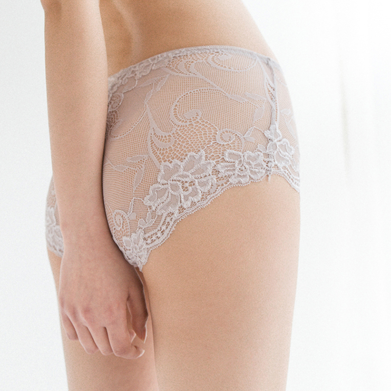 New 100% Natural Silk Lingerie Underwear Women Transparent Seamless Panties Bragas Mujer Panty Calcinhas Sexy Lace Beriefs