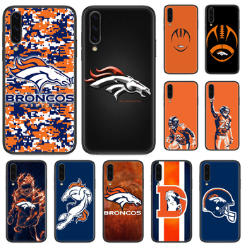 Rugby Denver Bronco Football Phone case For Samsung Galaxy A 5 10 20 3 30 40 50 51 7 70 71 E S 4G 16 17 18 black Etui art back image