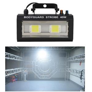 Image 1 - LED Bodyguard Strobe แสงคริสต์มาสโปรเจคเตอร์ Stroboscopes โคมไฟ Soundcontrol เวที Dj ดิสโก้ไฟ Led Strobe