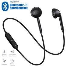 S6 Wireless Earphone Earbuds Headset Handsfree Headphone Sport Neckband Bluetoot