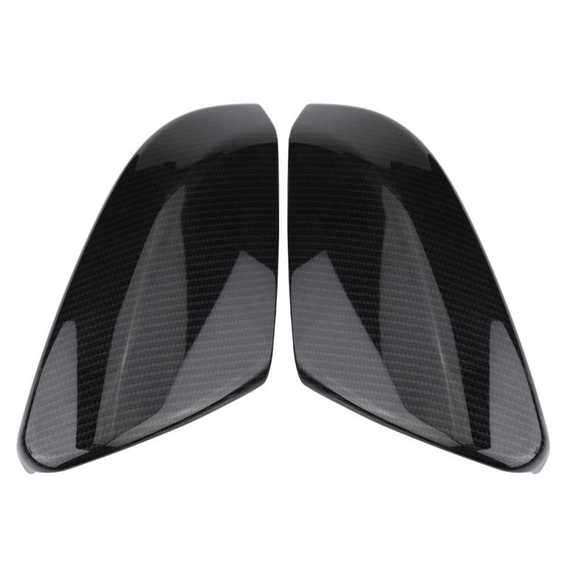 Cocas AX Side Door Mirror Carbon Fiber Style Rear View Rearview Caps Trim Car Covers Overlays Styling for Honda Civic 2016 2017 2018
