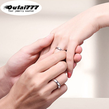 oulai 777 stainless steel wholesale boho Couple ring womens wedding accessories silver women gold mens rings men woman