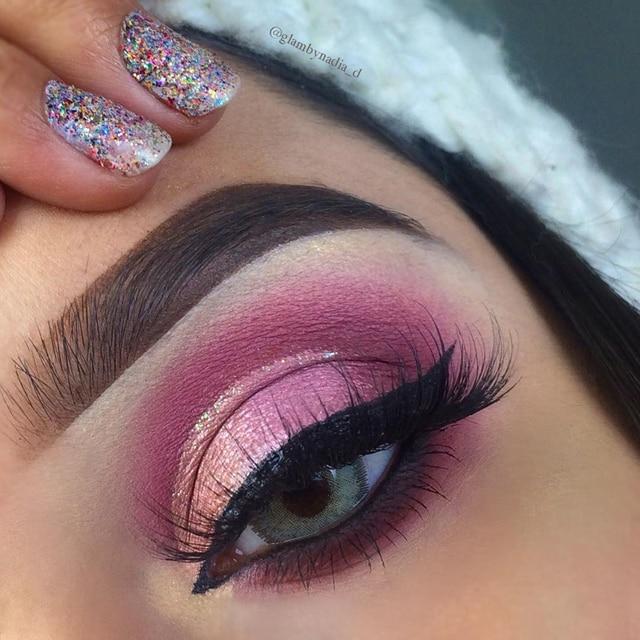 BeautyBigBang 9 Colors Eyeshadow Pallete Eyeshadow Matte Shimmer Makeup Pallete Sombras Maquiagens Cienie Do Powiek Eye Shadow 3
