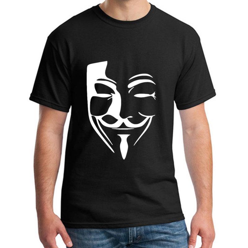 >personalized Anonymous Hacker t-shirt for <font><b>men</b></font> Comfortable humorous Harajuku <font><b>mens</b></font> <font><b>tshirts</b></font> <font><b>Crew</b></font> Neck Popular