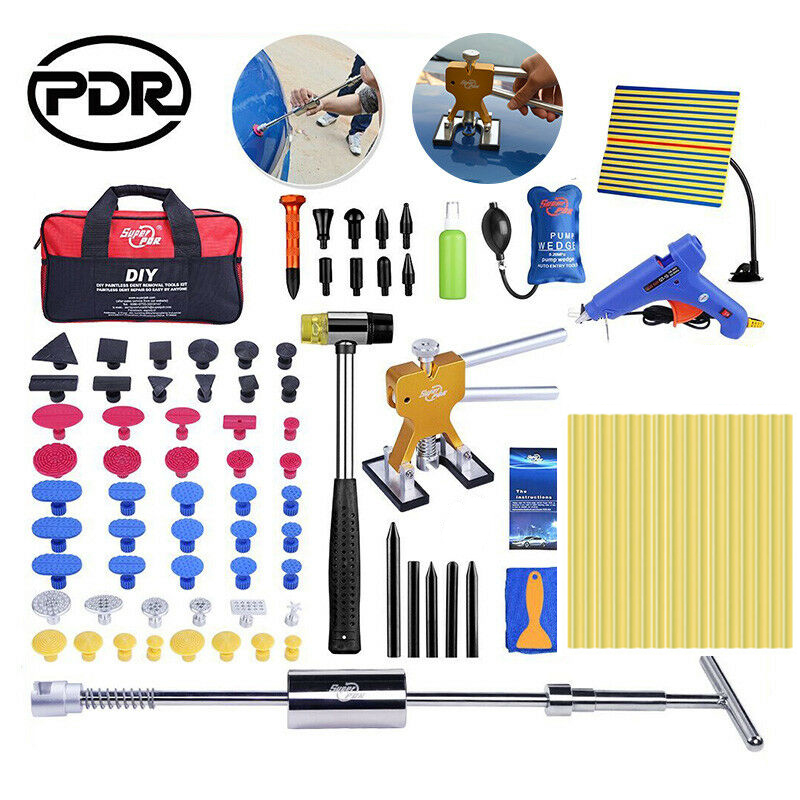 PDR Paintless Dent Car Dent Repair Tools Car Body Repair Kit Car Dent Remover Puller Tool To Remove Dents Carrosserie Reparation