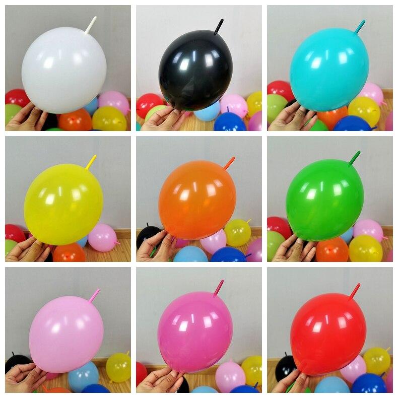Воздушные шары 50 шт./лот 10 дюймов, звеньевые украшения для свадебвечерние НКИ, хвостовой шар, товары для дома и сада/мероприятия и вечерние/Д...
