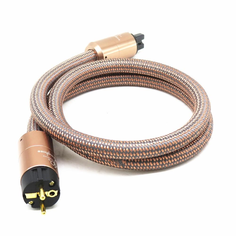 JP Accuphase fièvre importé cordon d'alimentation AU hifi câble d'alimentation hifi américain standard audio CD amplificateur ue prise américaine ligne électrique