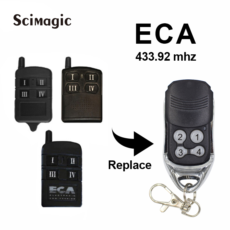 Summer Universal Garage Gate Replacement Receiver Upgrade Kit with Remotes