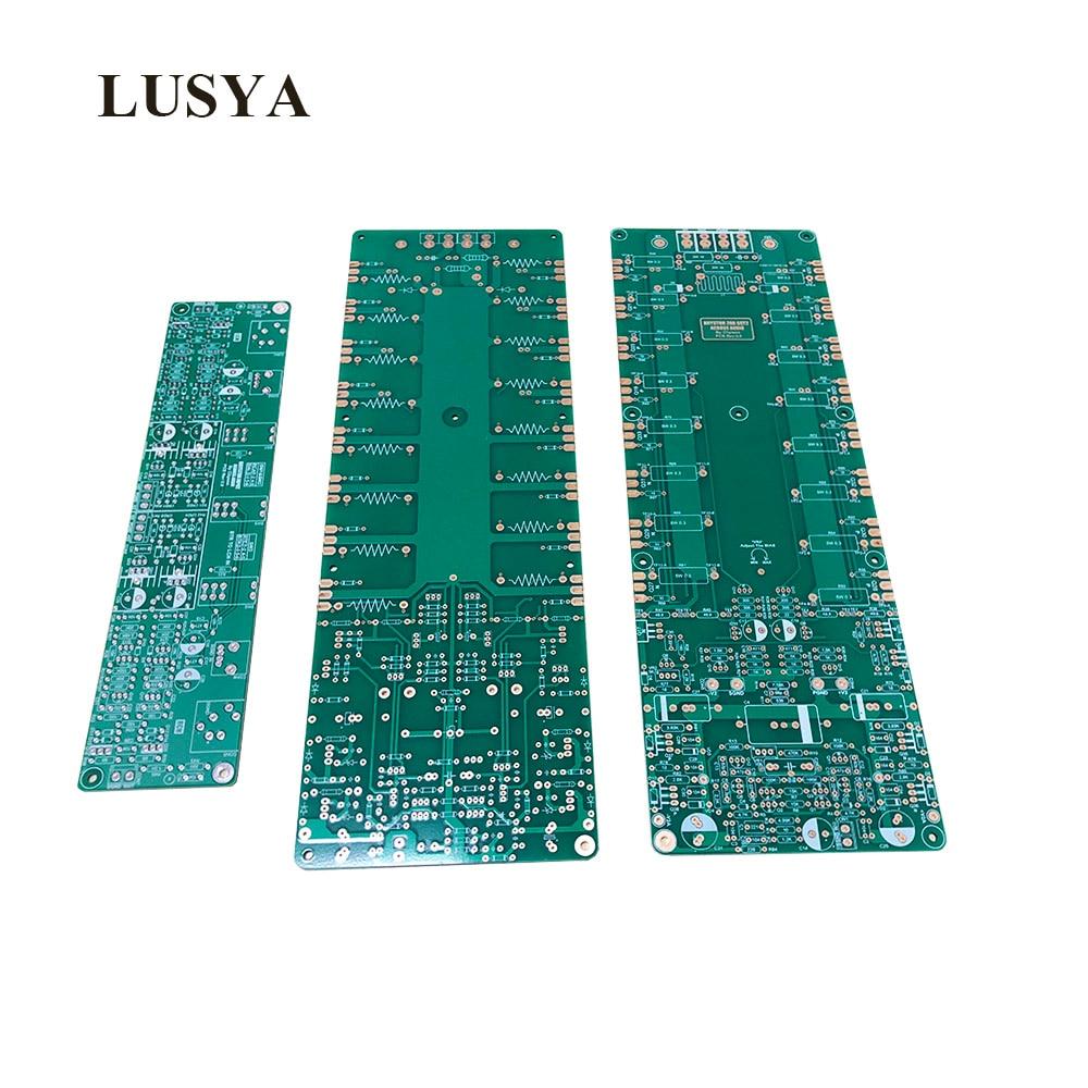 Lusya 2pcs Bystone 28B SST2 BRYSTON Amplifier Circuit PCB Board With 1pcs Preamplifier Input PCB Board T1138