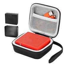 Portable EVA Zipper Hard Case Bag Box For JBL Go 2 Bluetooth Speaker