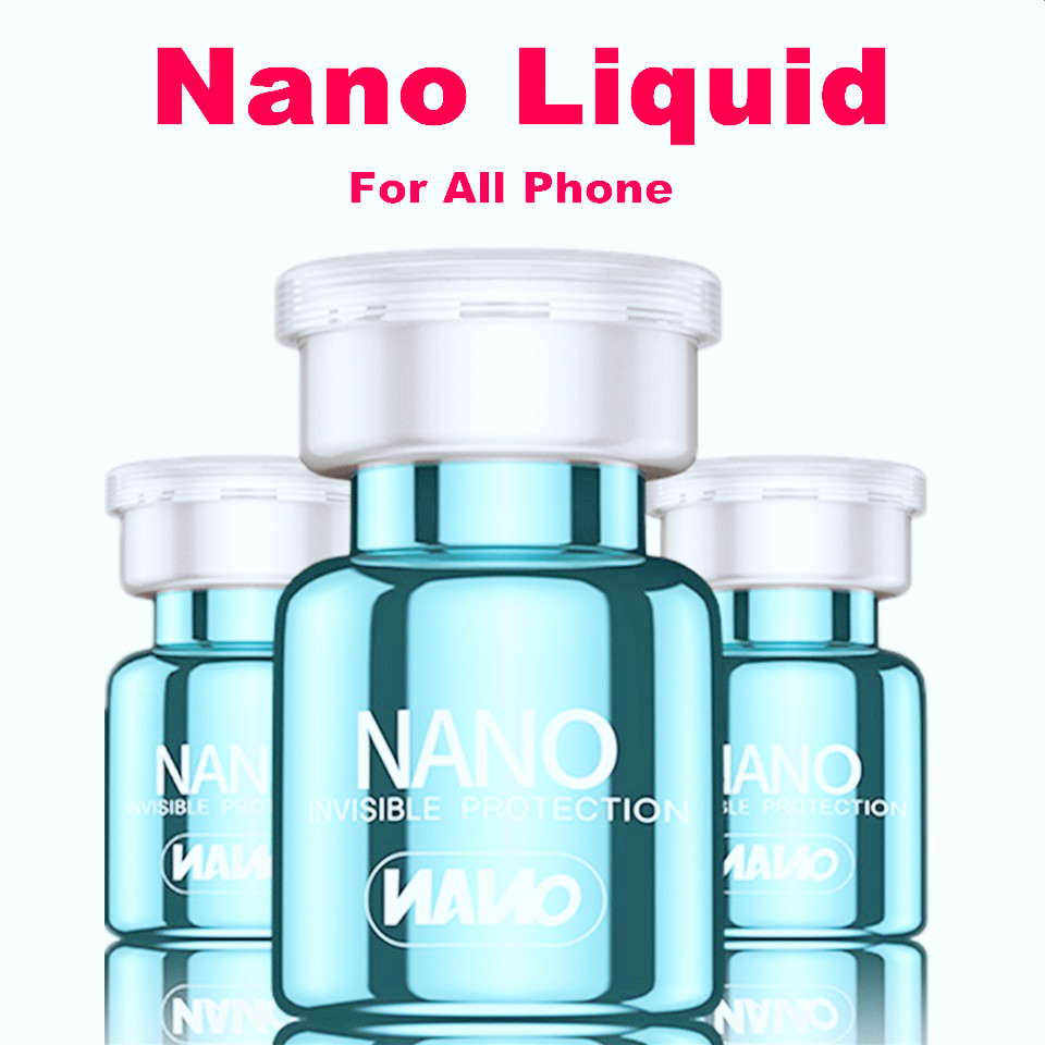 Nano Liquid Screen Protector For iPhone 11 Pro Max 7 8 PLUS Samsung Smart Phone Unvisible Full Cover Universal 9H Screen Film