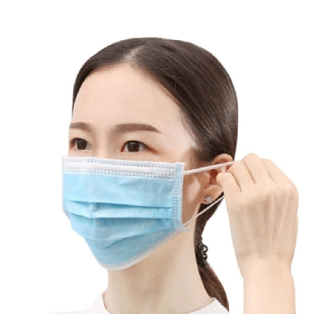 50pcs/10pcs Non-woven 3 layers Anti-dust Masks Disposable Safe Breathable Face Mouth Mask Kids Adult Ear loop Filter Masks 1