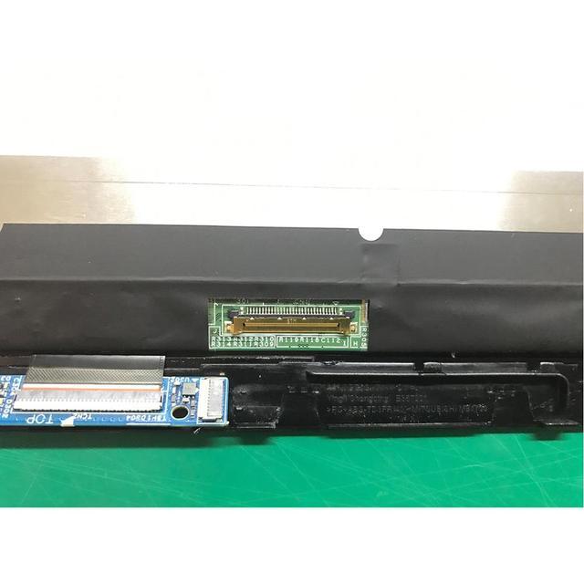 Pour HP pavillon x360 14 dh 0706nz pour ordinateur portable à écran tactile numériseur LCD affichage assemblée avec cadre Brazel remplacer NV140FHM