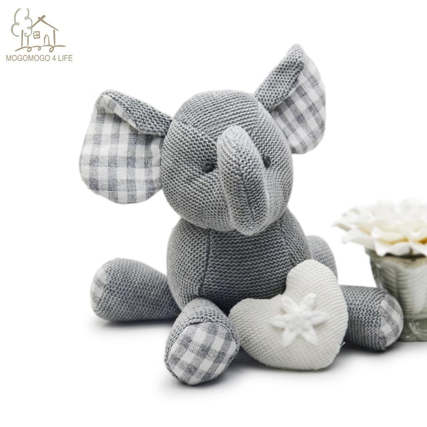 Роскошные скандинавские плюшевые игрушки в виде слона, милые мягкие игрушки в виде животных, Детская кукла, безопасная одежда для сна, мягкая игрушка для младенцев|toys gift|doll giftelephant doll | АлиЭкспресс