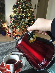304 л цветной 1500 Электрический чайник из нержавеющей стали беспроводной Вт бытовой кухонный быстрый нагрев Электрический чайник для кипячен...
