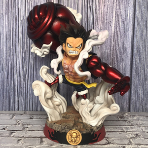 Una pieza DCS cuarto engranaje Luffy gran Ape King Gun GK estatua Super grande colección de figuras de acción modelo juguetes Y1239