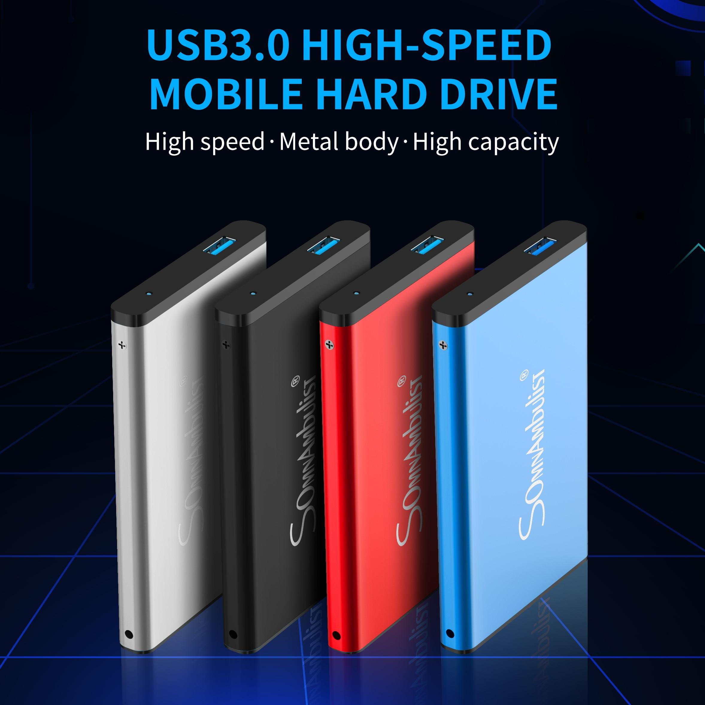 Metal HDD 2.5-calowy zewnętrzny dysk twardy 320GB/zewnętrzny dysk twardy 500gb / 1TB / 2tb dysk twardy HD dysk twardy disco