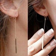New Earrings Long Chain…